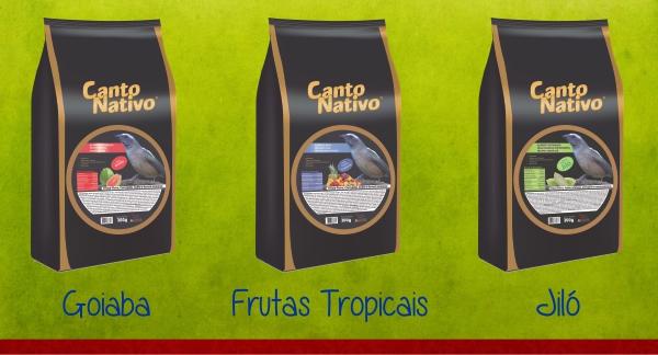 Canto Nativo Goiaba, Frutas e Jiló