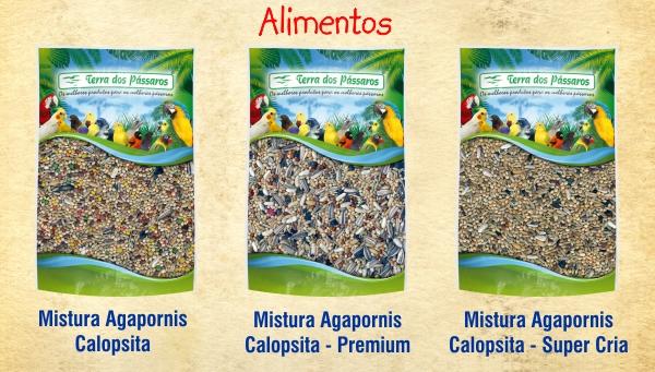 Misturas de Sementes para Calopsitas