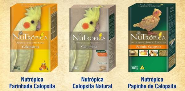Nutrópica para Calopsitas