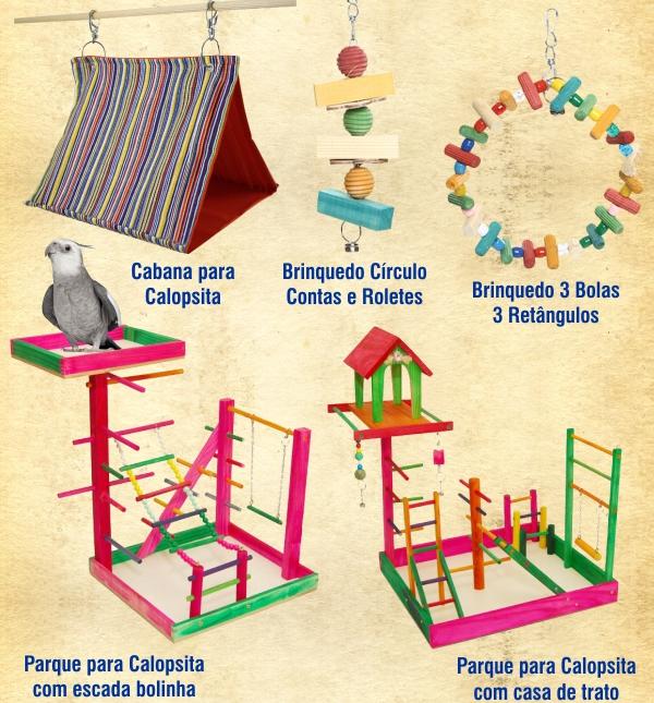 Brinquedos e Playgrounds